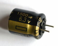 5 pieces,PANASONIC (JAPAN) FL, 1500uF 6.3v 105°C, Electrolytic Capacitor-ref:115