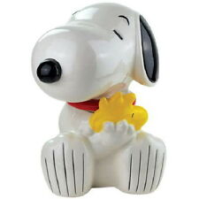 Peanuts Snoopy Hugging Woodstock Figures Ceramic Cookie Jar 2012 NEW UNUSED