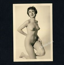 #225 RÖSSLER AKTFOTO / NUDE WOMAN STUDY * Vintage 1950s Studio Photo - no PC !
