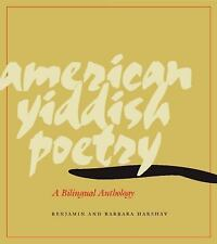 American Yiddish Poetry: A Bilingual Anthology