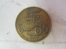 1980 Pullman Car 1911 Speedster York, PA Coin Club Bronze Medal/ Token
