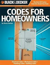 Codes for Homeowners Electrical Mechanical Plumbing Building (PB)