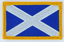 SCOTLAND ST ANDREW FLAG PATCH BADGE IRON ON NEW