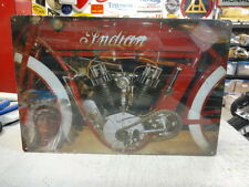 INDIAN OLD TWIN  MOTORCYCLE  SIGN   PARTS & ACCESSORIES EC0163
