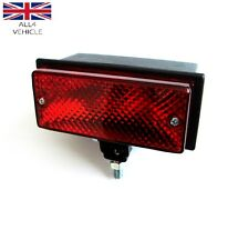 1 X RED REAR HALOGEN FOG TAIL LIGHT LAMP 12/24V PICK UP SUV CARAVANE E-MARKED