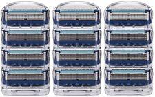 Gillette Fusion Proglide Cartridges, 12 Count (Unboxed) + FREE Gray Tweezer