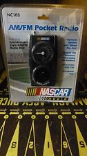 Emerson Nascar AM/FM POCKET RADIO NC188 Sealed!