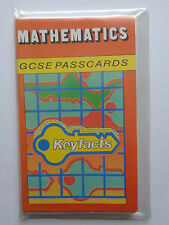 Mathematics GCSE Passcards 28 Cards (56 pp). Charles Letts 1988 Wrap cover.