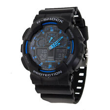 Casio Sport G SHOCK Mens Analog-Digital Black Watch GA-100-1A2ER