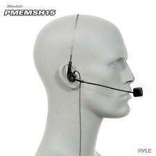 NEW Pyle PMEMSH15 Cardioid Condenser Headset Mic W/ Flexible Wired Boom