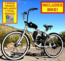 "BICYCLE MOTOR KIT 4-STROKE COMPLETE DIY MOTORIZED BICYCLE KIT WITH 26"" BIKE!"