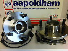 LANDROVER DISCO DISCOVERY ii mk2 2.5 TD5 98-04 2x NEW FRONT WHEEL BEARINGS /HUBS