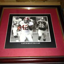"ALABAMA CRIMSON TIDE FRAMED ART PICTURE "" Catch Me If You Can "" Awesome Style"