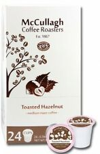 McCullagh Coffee Roasters TOASTED Hazelnut Coffee (96 K-Cups), Keurig Pods