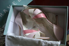 Rare!Sold out!New unused £75 Ravel leather pink sandals shoes 5.5 39
