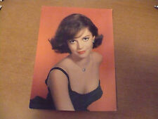 FOTOGRAFIA CARTOLINA D'EPOCA A COLORI NATALIE WOOD CINEMA ROTALFOTO 99