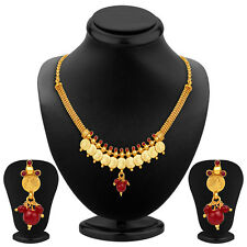 Sukkhi Ravishing Gold Plated Temple Jewellery Necklace Set(2269NGDLPV650)