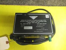 MEECH STATIC ELIMINATORS LTD POWER SUPPLY MODEL 903 110/240Vac 0.2A A AMP