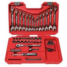 New Craftsman 56 PC Mechanics Tool Set Socket Wrench Set with Case MTS Free Ship