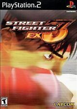 Street Fighter EX3 (Sony PlayStation 2, 2000) - Japanese Version