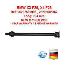 Kardanwelle Gelenkwelle BMW X3 F25, X4 F26 26207589985 , 26208605867  NEW!!