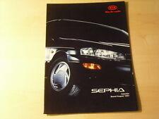 49770) Kia Sephia Zubehör Prospekt 08/1997