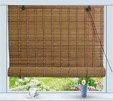 """Bamboo Roll Up Window Blind Sun Shade W24"""" x H72"""""""