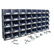 750pc SAE BOLTS, NUTS WASHERS Set + 40 ORGANIZER BINS GRADE 5 COARSE Machine Hex