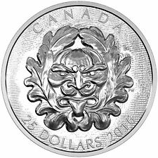 25 CAD Silber Proof Ultra High Relief Grotesque Horned Green Man Kanada 2016