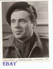 Dick Bogarde bright smile as soldier VINTAGE Photo Password Is Courage