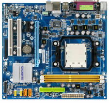 Gigabyte Technology GA-M61SME-S2L rev 2.0 Socket AM2, AMD Motherboard & cpu gift
