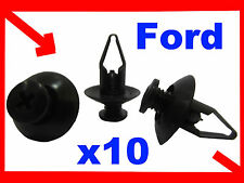 10 Ford universel auto car plastic attaches pare-choc fender clips 58E