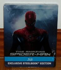 THE AMAZING SPIDER MAN-STEELBOOK-BLU-RAY-NUEVO-NEW-PRECINTADO-SEALED-CASTELLANO