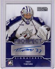 TROY TIMPANO 15/16 Leaf Prospects PURPLE Auto Autograph #10/10 Rookie Signatures