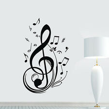 New Vinyl Music Note Notes Decal Wall Sticker Home Arts Decor Wall Brand New