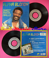 LP 45 7'' ALPHA BLONDY Sweet fanta diallo Miri 1987 france EMI no cd mc dvd