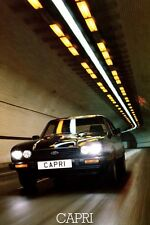 Ford Capri Mk3 2.8 injection S large retro poster