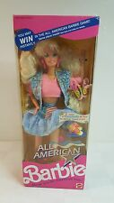 All American Barbie 1990 MIB