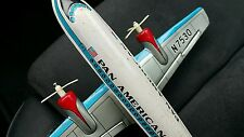 VINTAGE TIN TOY JET AIRPLANE JAPAN T&T PAN AMERICAN N 7530 PA A FRICTION