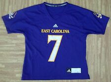 East Carolina University Pirates Adidas Football Jersey ~ Women's Medium M ~ ECU