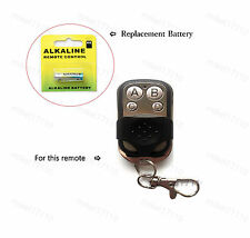 LED Accent Light Remote Control Replacement Battery
