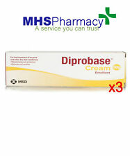 3 x 50g Diprobase cream emollient 50g in tube for dry skin for dry skin eczema