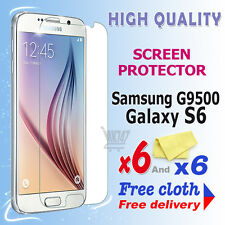 6 new High Quality Screen protection film foil for Samsung Galaxy S6