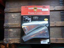 #EV DS HD Harley Davidson Doss Chrome Seat Rail Covers FLHT FLHS FLT  28-722