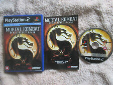 Mortal Kombat: Deception / Complete (Sony PlayStation 2, 2004) PS2