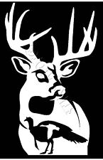 Whitetail Deer Turkey Geese Duck hunting car truck window decal graphic sticker