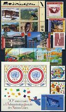 UN - Geneva - 2001 Year Set, 16 Stamps & 1 Sheet - Mint Never Hinged