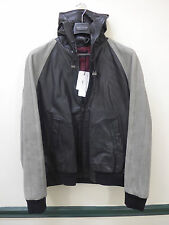NWT MARC JACOBS ALL LEATHER and SUEDE HOODIE Sz Euro 56