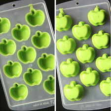 DIY Ice Small Apples Cake Mold Soap Flexible Silicone Candy Chocolate Mould C