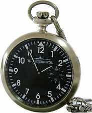 Thunderbirds mechanische Taschenuhr pocket watch SeaGull3621 17Rubins B Ware